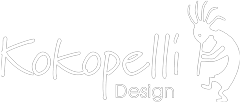 Kokopelli Design Logo